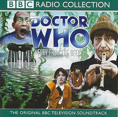 Doctor Who - Fury from the Deep - CD Audio Book Patrick Troughton from 1968