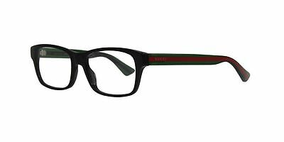 Gucci Eyeglasses GG0006O 006 Black Frame / Clear Lenses