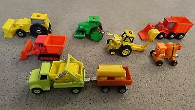 Brio Bob The Builder Vehicles Joblot Toys Train Dizzy Muck Scoop Rolly Vgc More