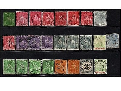 Trinidad, Lot Of Stamps