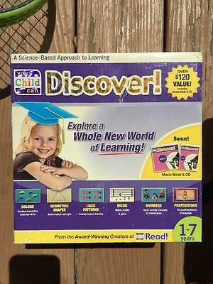 New YOUR CHILD CAN DISCOVER! DELUXE KIT -For ages 1 to 7 years.