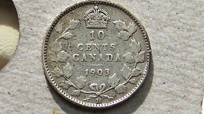 Canada - 10 Cents, 1903-H