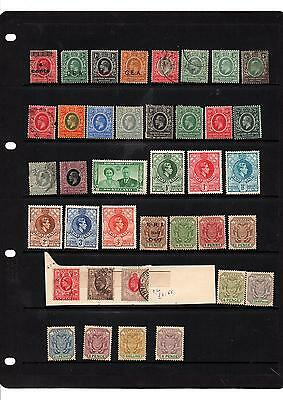 EAST AFRICA and UGANDA, LOT OF STAMPS
