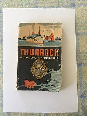 Thurrock Official Guide And Directory Circa 1950