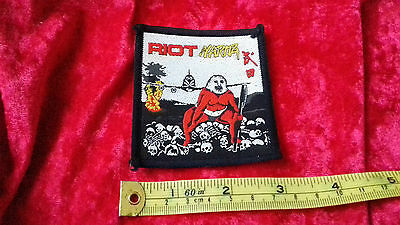 Riot Narita vintage early 80s sew on patch (LAST ONE)