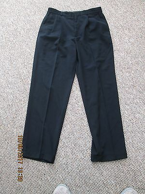 mens  black claibourne pants size 34 /32