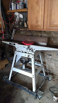 "6"" Deluxe jointer  heavy weight Delta  JT 360  Portable Heavy wheeled stand"