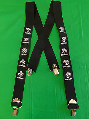 Jagermeister Suspenders Brand New One Size Fits Most