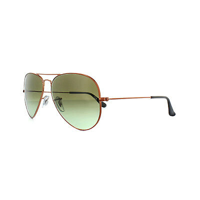 9f3fa7b0ad Ray-Ban Sunglasses Aviator 3025 9002A6 Bronze Copper Green Gradient Medium  58mm