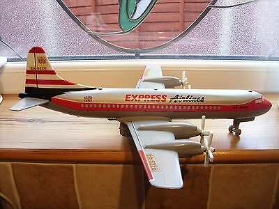 VINTAGE 1960,s BATTERY OPERATED EXPRESS AIRLINER MADE BY LOUIS MARX & CO .. RARE