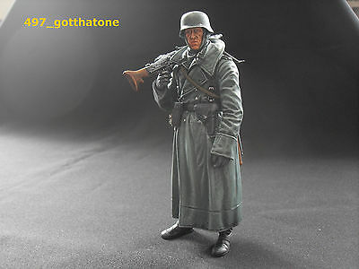 1/16 RC GERMAN INFANTRY FIGURE TANK RIDER  PRO-PAINTED HENG LONG 120 mm.