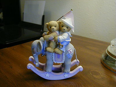 "Cherished Teddies ""Never Forget I'm Always There For You"" elephant rocks!"