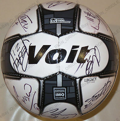 2016 CRUZ AZUL team signed VOIT soccer ball 100% Authentic autos jersey PROOF