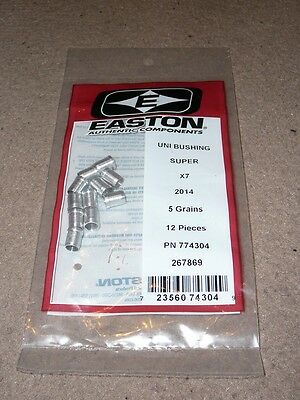 Easton Super UNI Bushing for X7 arrows 2014 shaft BNIP