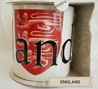 *RARE NOS Starbucks ENGLAND Crest 3 Lions Collector City Series Mug New In Box