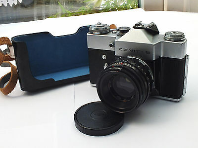 ZENIT- B SLR 35mm FILM CAMERA with HELIOS LENS