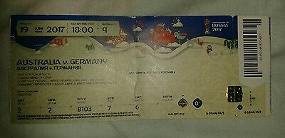 Ticket 2017 Fifa Confed Cup #4 Australien - Deutschland DFB Germany