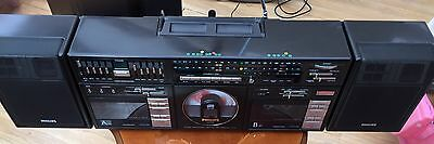 PHILIPS D8958/05 BOOMBOX - CD, Cassette and Radio player