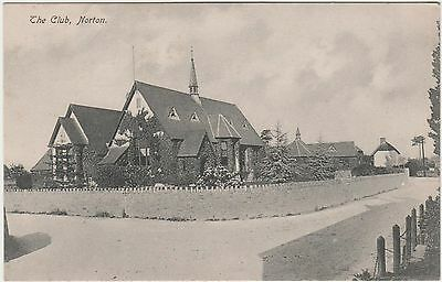 Postcard of The Club, Norton.(possibly Somerset)