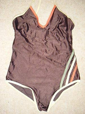 VINTAGE 1970s SWIMMING COSTUME / SWIMSUIT SIZE - 36 INCH CHEST