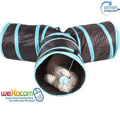 Funny Folding Home Toy Cat Play Tunnel Toys For Cats Training Small Dog Products