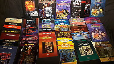 Große Star Wars D6 West End Games Roleplaying Sammlung  (40 Bücher !!)