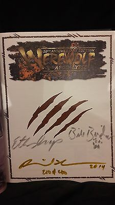 Heavy Metal Deluxe Werewolf the Apocalypse 20th Anniversary Edition 200 of 200