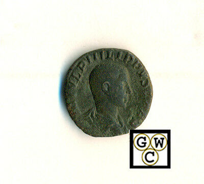 Rome Philip II as Caesar 244-247 Very Fine