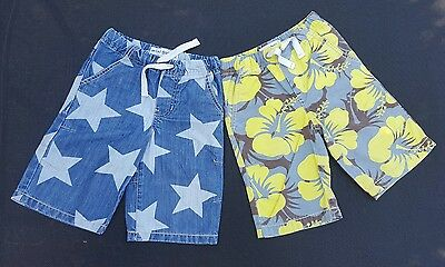 2 pairs of Mini Boden boys shorts age 5