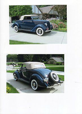 1936 Ford Cabriolet  Classic 1936 Ford Cabriolet