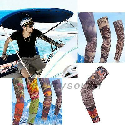 1 Pair Bike Bicycle Arm Cover Sleeve Cuff Outdoor Hiking Sun Protection New