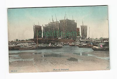 c1910 japanese PPC View of Shanghai No 226 dragonfly