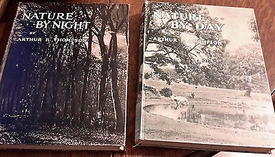 nature by day and night arthur thomson hardbacks 1934