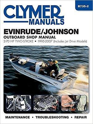 EVINRUDE JOHNSON OUTBOARD MOTOR 15 18 20 25 28 30 35 HP Owners Manual Handbook