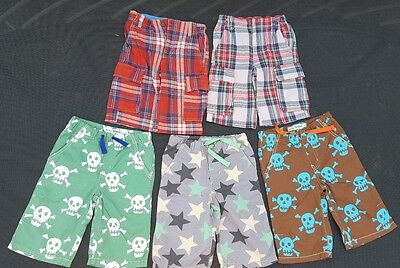 5 pairs Mini Boden shorts age 6 years