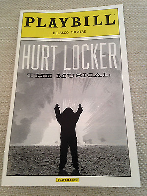 Hurt Locker Playbill Broadway (Hedwig and The Angry Inch)