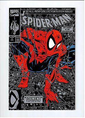 Spider-Man  Collector Issue Lot  #1 Regular Cover And Silver Cover High Grade