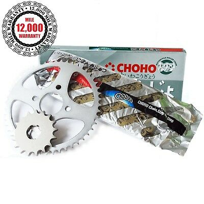 Honda VFR800 FI-6/ABS V-Tec 2002  X-Ring Gold Drive Chain and Sprockets Kit