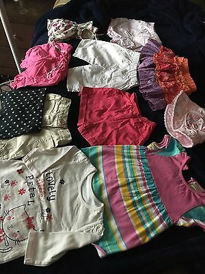 11 X Pieces Baby Girls Summer Clothes Bundle Mixed Brands Age 0-3 3-6 Months