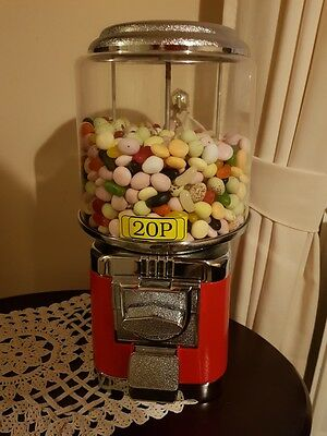 gumball 20p vending machine with sweets