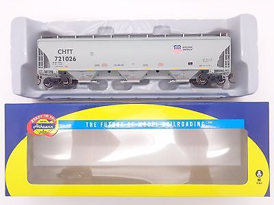 HO Union Pacific / UP Trinity Covered Hopper #721026 - Athearn #89604 vmf121