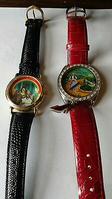 Wizard Of Oz watch-Avon, 2007 Yellow Brick Road & 1 is muscial (working)