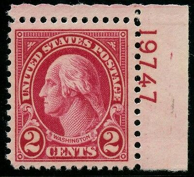 #634A Xf-Superb Og Nh Single Plate No. With Pse Cert Cv $2,250 Wlm3583