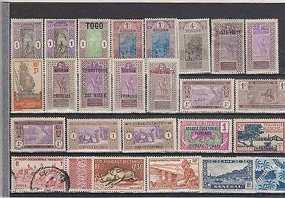 The Old France & Colonies Stamps   / 1920 - 1959 / .