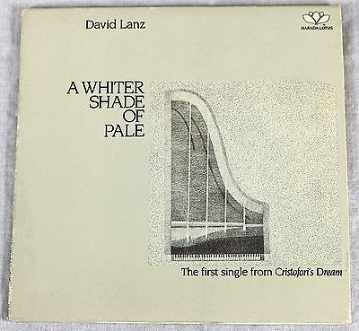 David Lanz 1988 A Whiter Shad Of Pale Promo Single CD Special Edition New Age NM