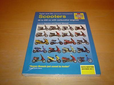 Haynes GILERA ICE RUNNER 50 FX125 FXR180 VX125 VXR180 200 Manual Owners Handbook