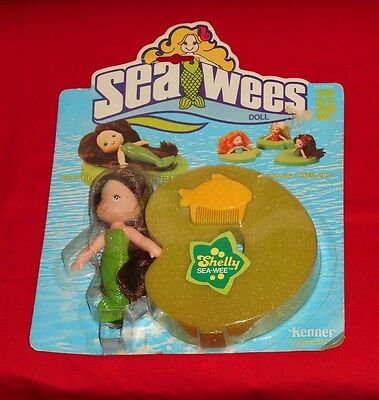 """vintage Kenner SEA WEES """"SHELLY"""" MOC"""