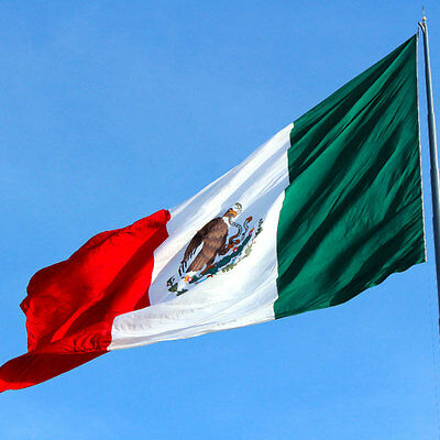Mexico FLAG mexican Banner 90x150cm - 5ftx3ft
