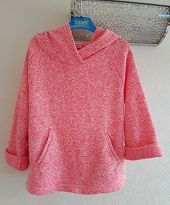 Girls Next Pink Hoodie Jumper Age 9 Years Dancing Gym