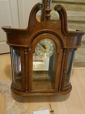 Vintage Ridgeway 3 Chime Curio Clock Model 793 Really Nice And Working